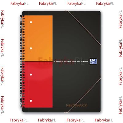 Kołozeszyt A4+ OXFORD INTERNATIONAL Meetingbook 80 kartek kratka