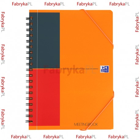 Kołozeszyt B5 OXFORD INTERNATIONAL Meetingbook 80 kartek linia