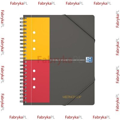 Kołozeszyt A5+ OXFORD INTERNATIONAL Meetingbook 80 kartek kratka
