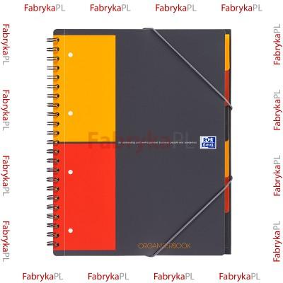 Kołozeszyt A4+ OXFORD INTERNATIONAL Organiserbook 80 kartek kratka