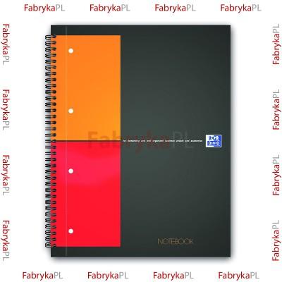 Kołobrulion A4+ OXFORD INTERNATIONAL Notebook 80 kartek kratka