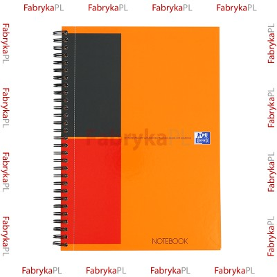 Kołobrulion B5 OXFORD INTERNATIONAL Notebook 80 kartek linia