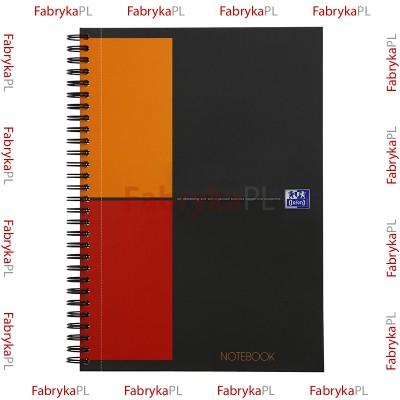 Kołobrulion B5 OXFORD INTERNATIONAL Notebook 80 kartek kratka