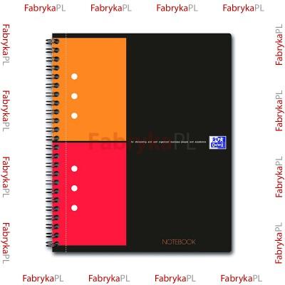 Kołobrulion A5+ OXFORD INTERNATIONAL Notebook 80 kartek kratka