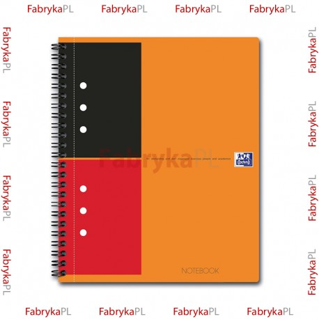 Kołobrulion A5+ OXFORD INTERNATIONAL Notebook 80 kartek linia