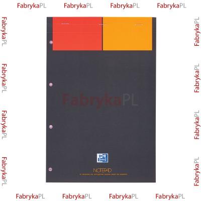 Blok notatnikowy A4+ OXFORD INTERNATIONAL Notepad 80 kartek kratka