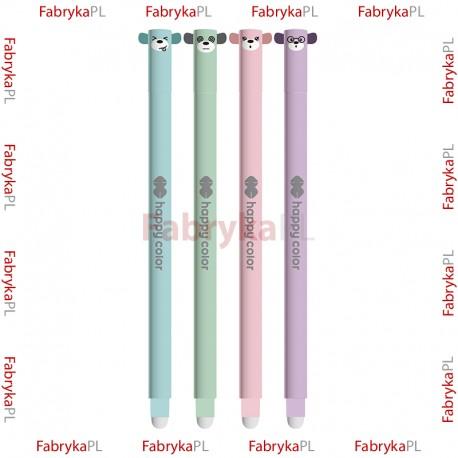 """Długopis wymazywalny Happy Color """"Uszaki Pastel"""""""