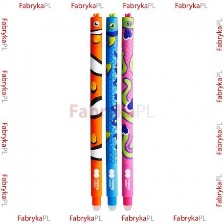 """Długopis wymazywalny Happy Color """"Rybki"""""""