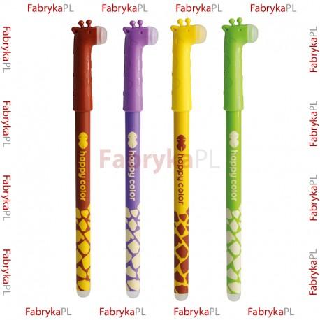 """Długopis wymazywalny Happy Color """"Żyrafy"""""""