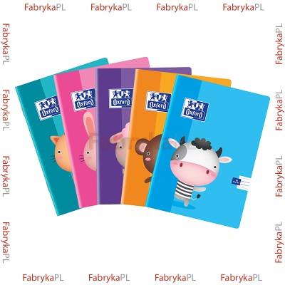 Zeszyt A5 OXFORD KIDS 16 kartek podwójna linia niebieska