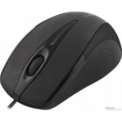 Mysz SIRIUS 3D OPT USB czarna