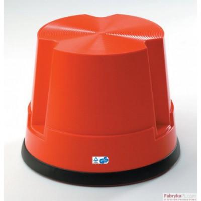 Taboret biurowy Twin Easy Step TWINCO czerwony