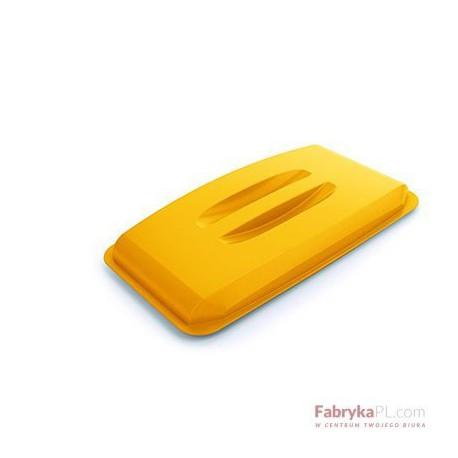 DURABLE DURABIN LID 60 pokrywa do pojemnika 60 l, żółta