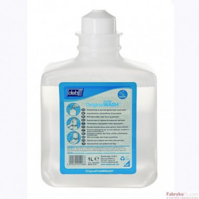 Wkład do dozownika FOAM WASH - zapach Original DEB