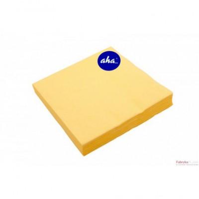 Serwetki AHA żółte 20 sztuk