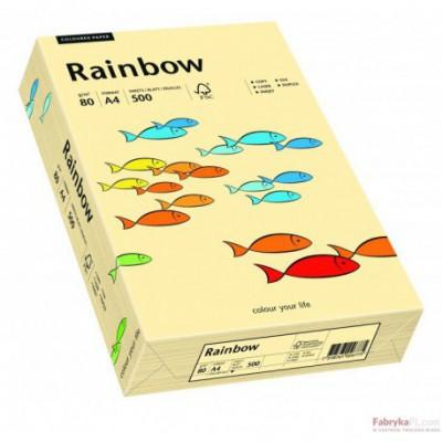 Papier ksero A4 kolorowy RAINBOW kość słoniowa