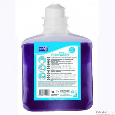 Wkład do dozownika FOAM WASH - zapach Relax DEB