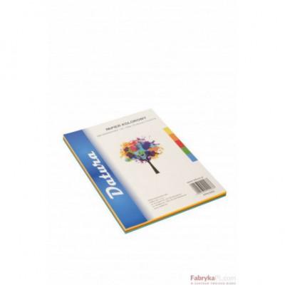 Papier xero kolorowy DATURA A4 160g (50) mix intensywny