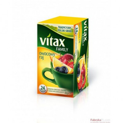Herbata VITAX Family Owocowy Raj 24TB/ 48g