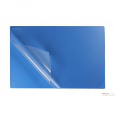 Podkład na biurko z folią 38x58 sky BIURFOL