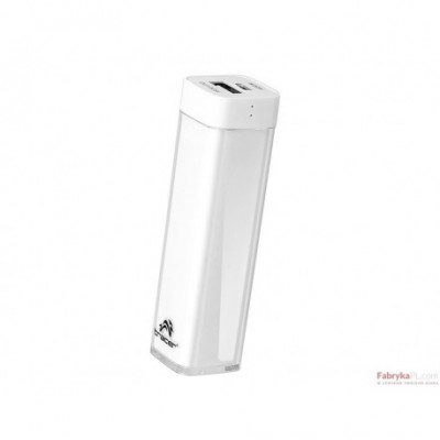Power bank 2600 mAh / Biały Tracer