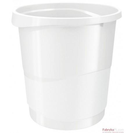 Kosz na śmieci ESSELTE Europost VIVIDA 14l, biały
