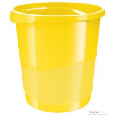 Kosz na śmieci ESSELTE Europost VIVIDA 14l, żółty