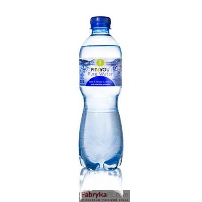Woda gazowana 0.5l FIT4YOU