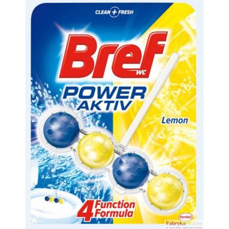 Zawieszka do WC Bref 51g lemon