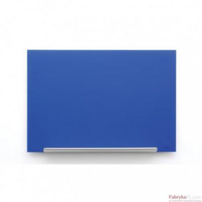 Tablica szklana Nobo Diamond niebieska 1883x1053 mm 1905190