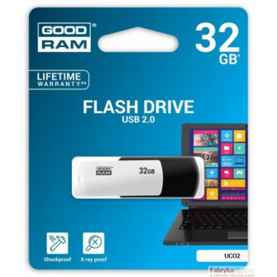Pamięć USB GOODRAM 32GB UCO2 BLACK&WHITE USB 20