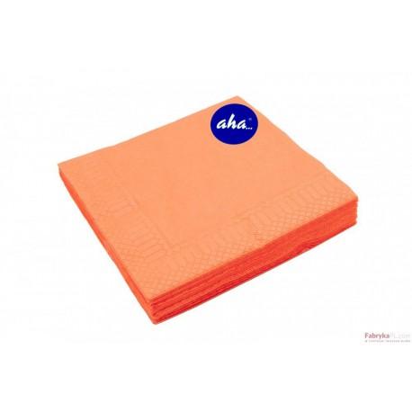 Serwetki AHA pomarańczowe 20 sztuk