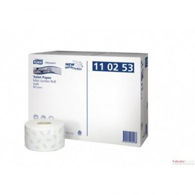 Papier Tork Premium Mini Jumbo makulatura/biały
