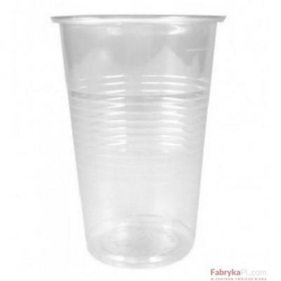 Kubek przezroczysty 200ml do zimnych napoii (100szt)