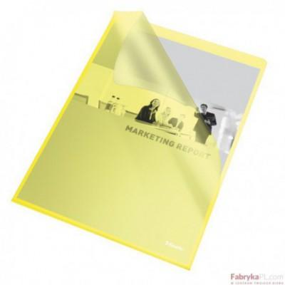 Ofertówki groszkowe A4 /115 mic, ESSELTE, żółte(25)