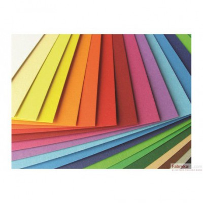 Karton kolorowy 220g, B2, pomarańczowy HA 3522 5070-4 Happy Color