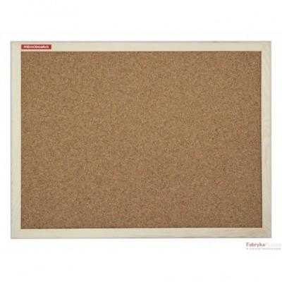 Tablica korkowa w ramie drewnianej rozm. 150x100 cm Memoboards
