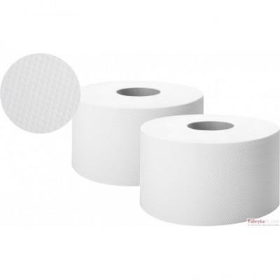 Papier toaletowy biały 130m 2 warstwy celuloza JUMBO ELLICOMFORT ELLIS