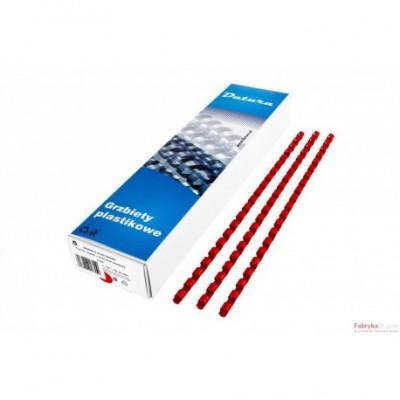 Grzbiet do bindowania DATURA 6mm (100) czerwony