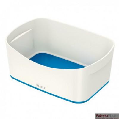 Pojemnik MyBOX bez pokrywki biało-niebieski Leitz