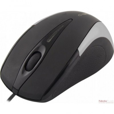 Mysz SIRIUS 3D OPT USB SREBRNA