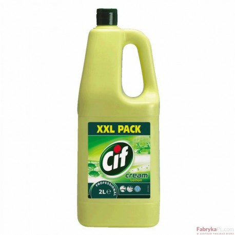 Mleczko CIF CREAM LEMON 2L