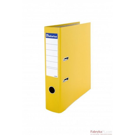 Segregator DATURA A4/75 żółty