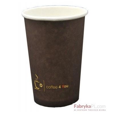 Kubek papierowy 180ml z nadrukiem COFFEE 4 YOU