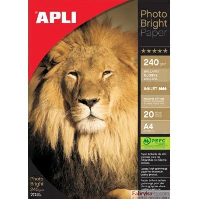 Papier Foto APLI A4 200g błyszczący-glossy (20)