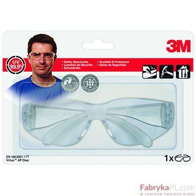 Okulary ochronne 3M