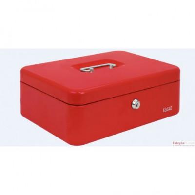 Kasetka na pieniądze EAGLE 8878 L czerwona