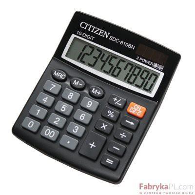 Kalkulator CITIZEN SDC810 II .
