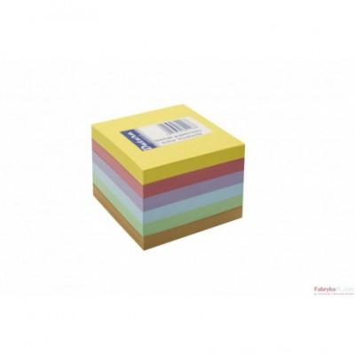 Kostka nieklejona DATURA 85x85x70 kolorowa