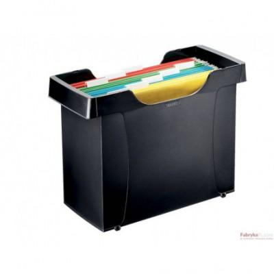Kartoteka na teczki zawieszane LEITZ Plus, czarny